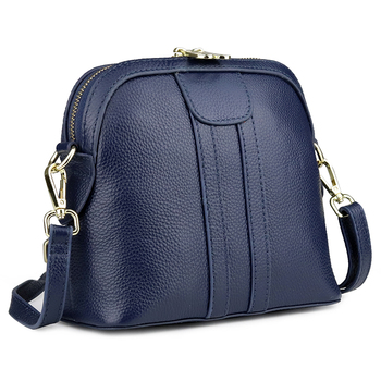 crossbody bag small lady cow leather woman red solid flap blue fashion vintage lady travel shoulder bags female messenger bag