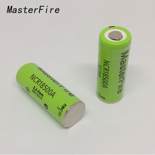 2pcs/lot New Original 3.6V NCR18500A 2000mah Li-Ion Rechargeable Battery Batteries For Panasonic Free Shipping