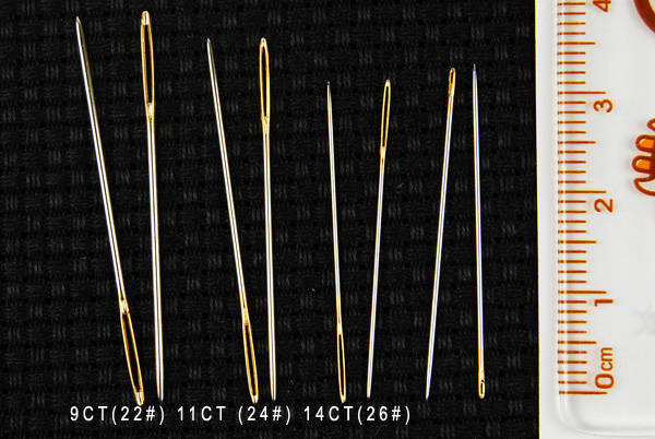 wholesale accessories for cross stitch needles, embroidery needles 28# 26# 24# 22# 18CT 16CT 14CT 11CT 9CT (2).jpg