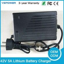 Rechargeable 42 V 5A Lithium Li-ion Électrique E-vélo Outil Électrique Scooter Batterie Chargeur