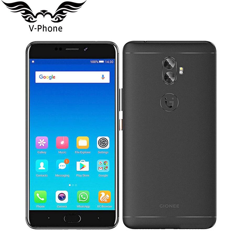 Original 6 inch Gionee A1 Plus Mobile phone 4GB 64GB Octa Core 4550mAh Fingerprint 20MP Camera Android Smartphone