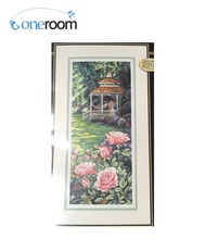 5th Top Quality Beautiful Lovely Counted Cross Stitch Kit Paradise Found Rose Park Garden Kiss Lover dim 35207