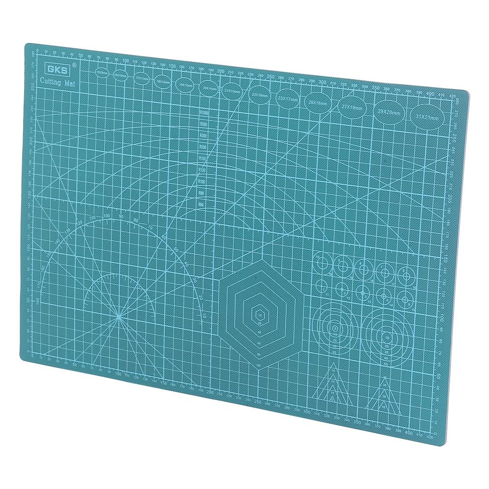 esteira tapete de corte novidade 300*450 mm a3 universal double side pvc