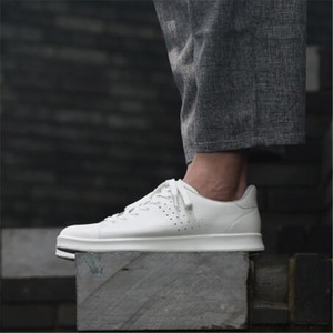 Image 3 - الأصلي شاومي Mijia الجلود لوحة أحذية الرجال الموضة مريحة المضادة للانزلاق الترفيه جلد طبيعي حذاء رياضة دعم رقاقة الذكية