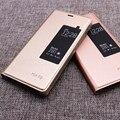 Para Huawei P9 Case Smart View do Windows PU Leather Flip Case capa para Huawei P9 EVA-L09 EVA-L19 EVA-L29