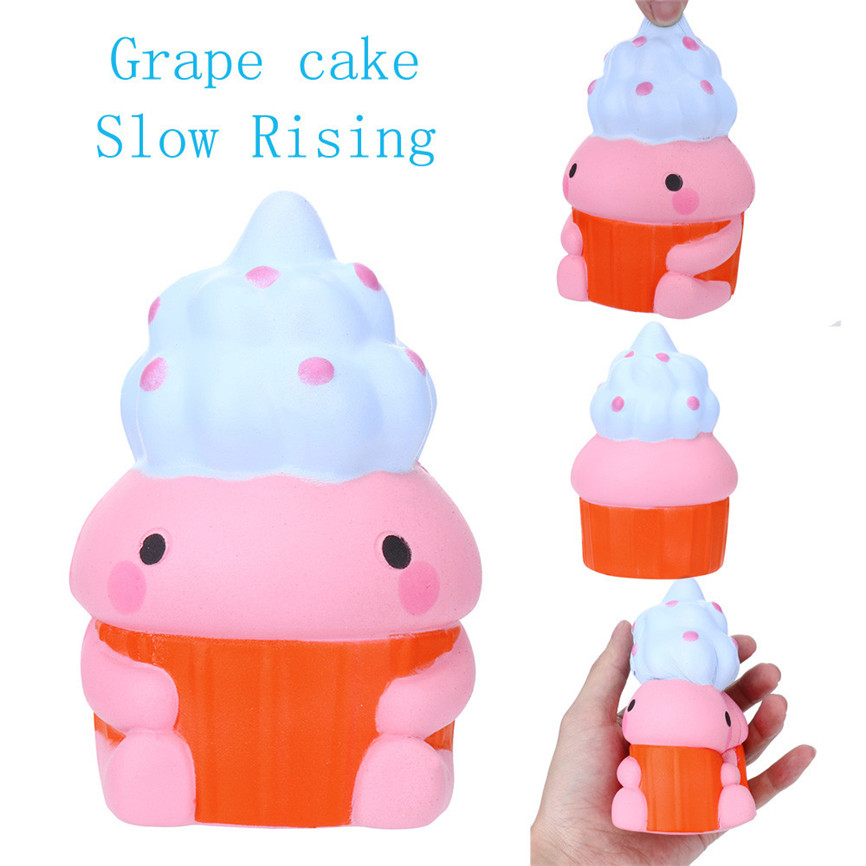 Super Grape Cake cented Charm Slow Rising Squeeze Stress Reliever Toy 9* 12*7cm Dropshipping May#5