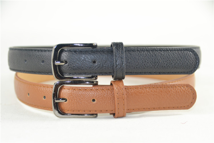 new teenager dress belt boy belt black and brown high quality simple style in Men 39 s Belts from Apparel Accessories