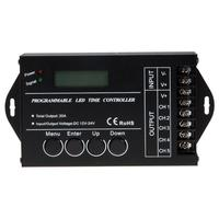 DC12 24V TC421 WiFi Time Programmable LED Controller 5 Channel WIFI Time Programmable Controller For LED