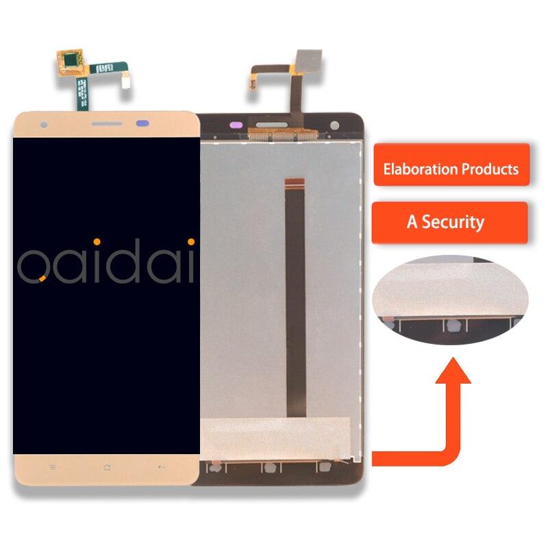 Affichage à Écran Tactile LCD Pour Oukitel K 6000 K6000 Numériseur de Téléphone Portable Remplacement LCD Assemblage de Pièces Avec Outils