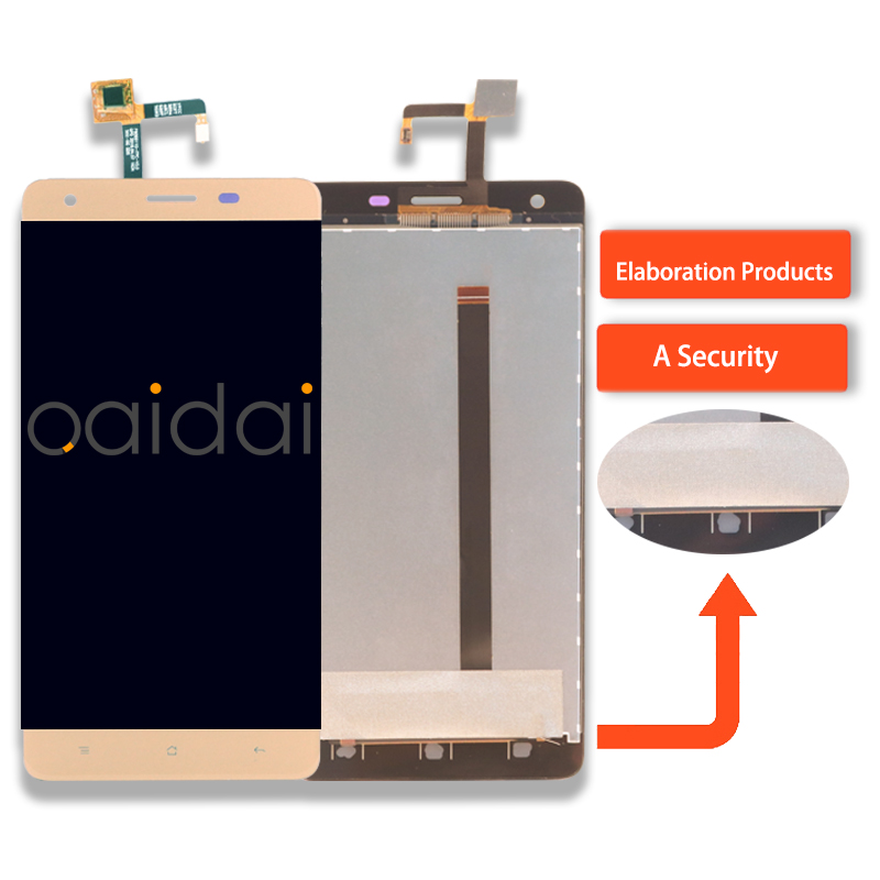 LCD Touch Screen Display For Oukitel K 6000 K6000 Mobile Phone Digitizer Replacement Lcds Parts Assembly With Tools