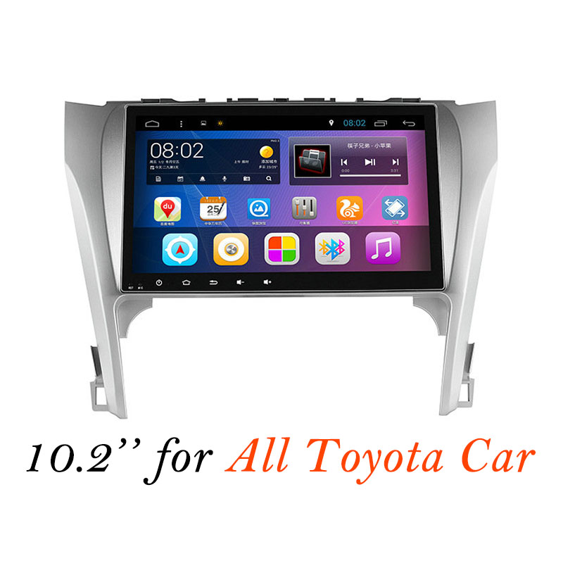 Android 5.1 Car DVD GPS Navigation Multimedia Player for CAMRY Reiz Corolla Levin Vios Yaris RAV 4 Land Cruiser Radio Headunit