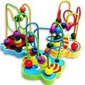 Ábaco Conjunto Órbita Del Laberinto Para montessori Juguete De Madera Educativo Colorido de Bolas Laberinto Niño Bloques de Construcción de Juguete de regalo