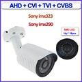 Imx323 imx290 Sensor 1080 P AHD HDCVI HDTVI 4en1 cámara de 2MP Color de Visión Nocturna de vigilancia de cámaras de seguridad al aire libre, soporte gratuito
