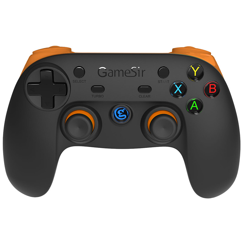 GameSir Orange G3s 2.4Ghz Wireless Bluetooth Gaming Gamepad Controller for Apple iOS Android windows TV BOX Smartphone Tablet PC