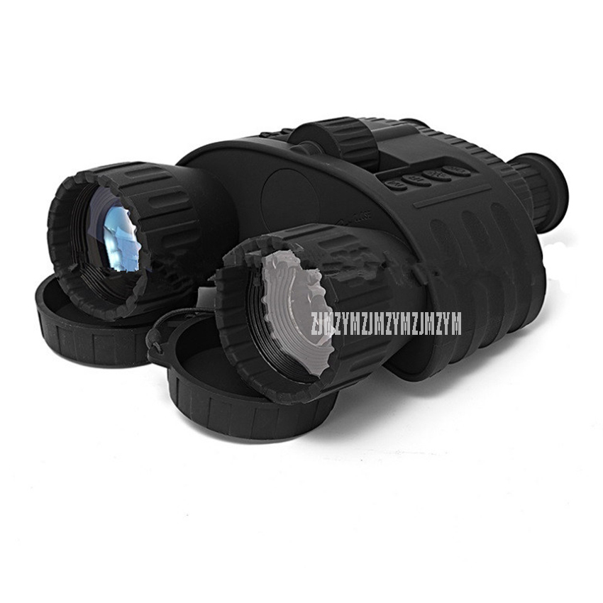 WG80 300M Range Binoculars Vision 4x50 Animal Observation Night Vision 720p Camera Video 1.5 LCD Display 20 hours Video Record 4x50 digital night vision binocular 300m range takes 5mp photo