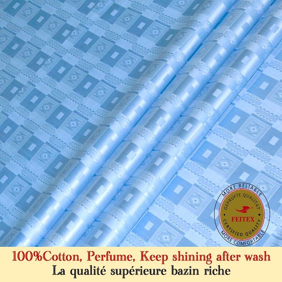 Bazin Riche tissu similaire Getzner qualité Jacquard africain guinée brocart tissu 100% coton Shadda Dashiki robe