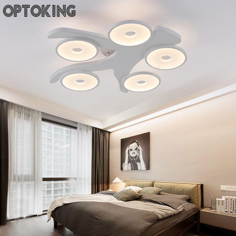 Tree Type Acrylic Led Ceiling Light Modern Living Room Lamps For Home Indoor Bedroom Lighting Hotel
