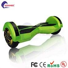 Nueva 8 Pulgadas LED Bluetooth Hoverboard Patineta 2 Ruedas Auto Equilibrio Scooters Cromo Eléctrico Hover Tableros con altavoz flyboard