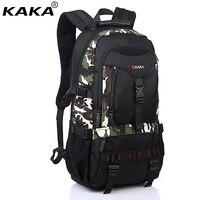 2019 KAKA Waterproof Oxford Men Summer Shoulder Bags Camouflage Women High Capacity Computer School Laptop Backpack Travel Bags