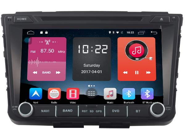 Android 6 0 Car DVD GPS for Hyundai IX25 Creta 2014 2015 Mirror Link 2GB RAM