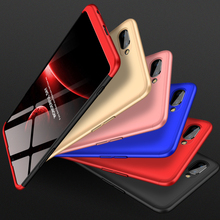 360 Degree Full Protection Case For OPPO A5 Cover OPPOA5 shockproof case + glass film for