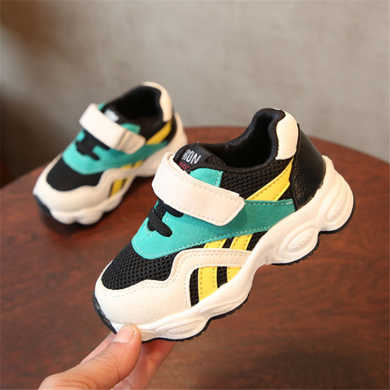 DIMI 2018 New Spring Children Shoes Boys Sport Shoes Mesh Breathable Kids Sneakers For B ...