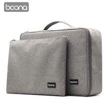 Boona & Kép Chống Tài Liệu Túi dụng Giấy Tờ Túi Bảo Quản Credential Túi Bằng Tốt Nghiệp Lưu Trữ Tập Tin Bỏ Túi