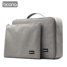 Boona Single & Dual Oxford Waterproof Document Bag Organizer Papers Storage Pouch Credential Diploma File Pocket