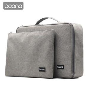 Image 1 - Boona bolsa impermeable para documentos, bolsa de almacenamiento de papeles, bolsa para credenciales, bolsillo para documentos