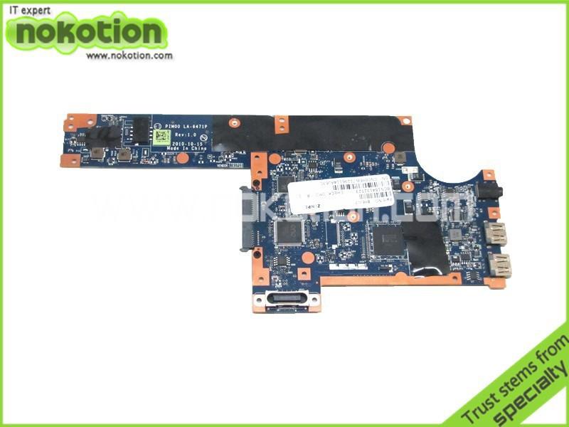 8Y6W7 LA-6471P Free shipping laptop motherboard for dell inspiron mini Duo 1090 intel N550 DDR3 Mainboard full tested for dell inspiron series n5110 motherboard mainboard g8rw1 tested free shipping