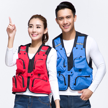 2018 Hiking Vest Outdoor Camping Tactical Vest man women Adjustable with Storage Pockets climbing fishing Waistcoat Hiking Vest