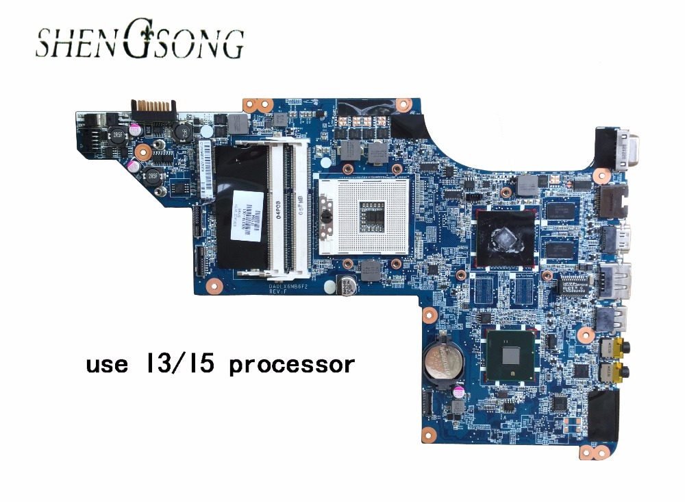 Free Shipping laptop motherboard for hp pavilion DV7 DV7-4000 605319-001 hm55 HD5470/512 ddr3 DA0LX6MB6H1 628189 001 for hp dv3 4000 dv3 laptop motherboard ddr3 free shipping 100
