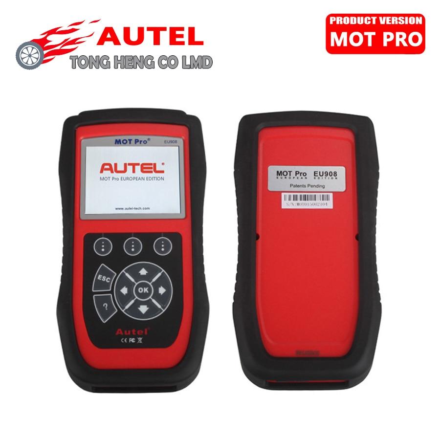 Цена за Оригинальный Новый Autel MOT Pro EU908 EU908 Многофункциональный Сканер Autel Сканер Autel Диагностический Инструмент Обновление Онлайн DHL Бесплатно