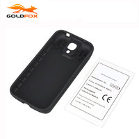 Replacement NFC 7600mah Battery For Samsung Galaxy S4 I9500 Battery With Cover Phone Commercial Extend Battery