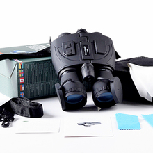 Infrared Night Vision Binoculars Tactical Scout Full darkness zoom 5X Special forces Telescope binocular For Hunting