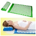 Health Care Body Massager Cushion Acupressure Mat Relieve Stress Pain Acupuncture Spike Yoga Mat with Pillow Drop For Shakti