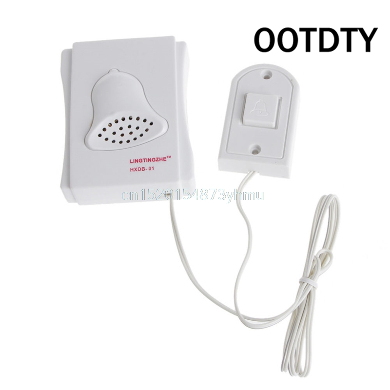 OOTDTY Door Bell Wired Electric Push Button Doorbell Button Chime Easy Installed L057 new hot