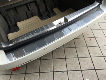 Car Rear Inner And Exterior Rear Bumper Protector  for 2015 toyota sienna