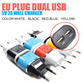 5V 2.1A USB Power EU Wall Adapter Mobile Phone Charger for iPad 2 3 4 for iPhone 5/5C 5S 4/4S for iPod Touch