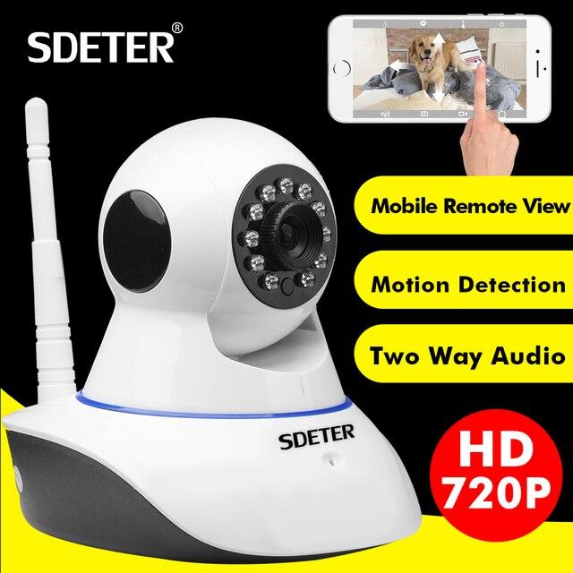 SDETER 1080P 720P CCTV Camera HD IP Camera WI-FI Wireless Home Security Camera Plug And Play PTZ P2P Night Version Indoor Camera