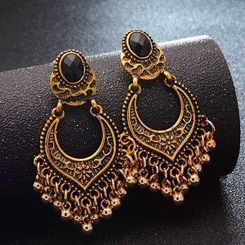 Fashion Metal Dangle Earrings Earrings Jewelry Women Jewelry Metal Color: Gold
