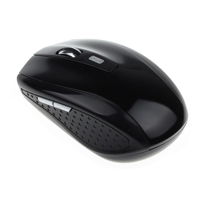 New 1pc Portable 2.4G Wireless Mouse Gamer Optical Wireless Mouse Mice For Computer PC Laptop fe9