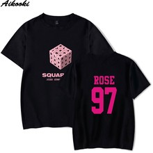 2018 New T-Shirt Print BLACKPINK Square Up Summer Tops Men/Women Tshirt High quality Casual Men's Square Up t-shirt Clothing(China)
