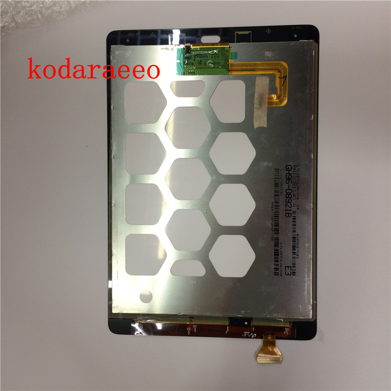 Kodaraeeo For Samsung Galaxy Tab A 9.7 SM-T550 T550 Touch Screen Digitizer with LCD Display assembly Parts free tools free shipping for samsung galaxy tab a 7 0 2016 sm t285 t285 touch digitizer lcd screen display assembly replacement