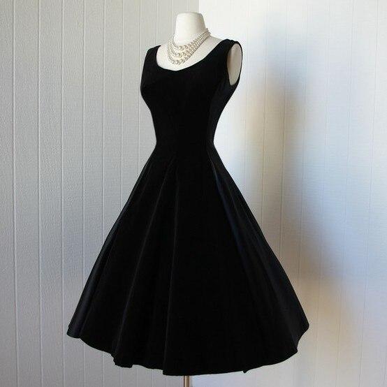 Vestidos para graduacion de negro