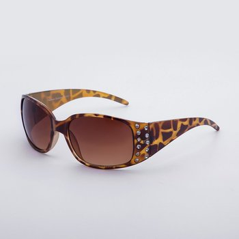 Versatile Fashion Leopard Brand Designer Luxury Vintage Sunglasses YJ-0067-1 Essential Accessories image