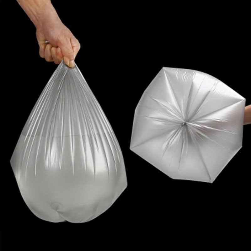 5 ม้วนเงิน Strong ทิ้งหนาถุงขยะ Break ประเภทถังขยะกระเป๋า Party ห้องนอนบ้านขยะเก็บกระเป๋า