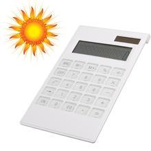 Новый тонкий Портативный 12 цифровой калькулятор солнечный Мощность Энергии Кристалл клавиатура Батарея двойной Мощность электронный калькулятор rekenmachin