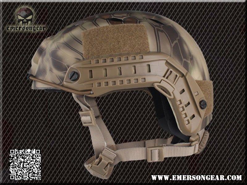 Для страйкбола фирмы emeson Быстрый шлем для бейсджампинга(уплотнения пластины Highlander ATFG Mandrake Marpat Пустыня AT) em5659c - Цвет: Highlander