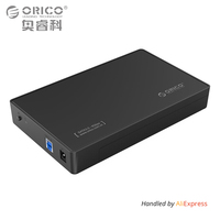 3 5 Inch HDD Enclosure Case USB 3 0 5Gbps To SATA Support UASP And 8TB